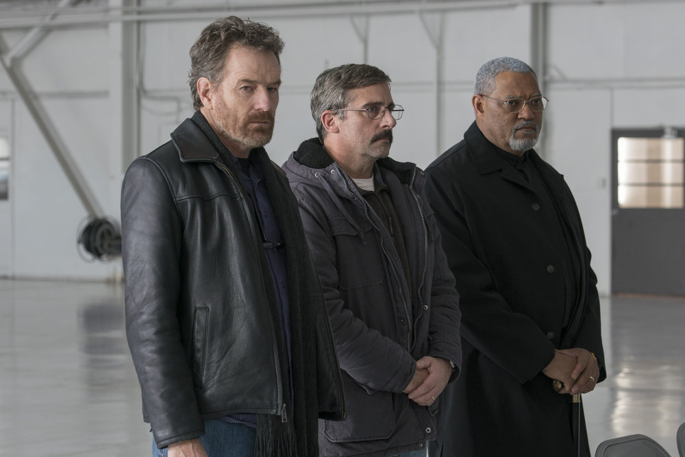 Last Flag Flying Poster Bryan Cranston, Steve Carell and Laurence Fishburne.jpg