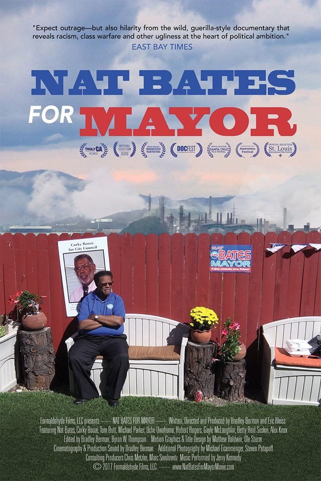 Nat Bates For Mayor - Directed by Bradley Berman and Eric Weiss  USA / 2017 / 76 minutes
