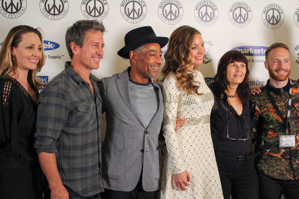 Michael Berry, Giancarlo Esposito, Sarah Joy Miller, Meira Blaustein and Tim Young Photo by: Leslie Hill
