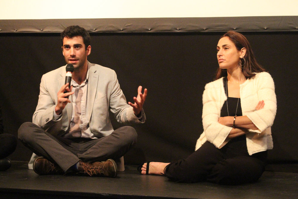 Brandon Somerhalder and Summer Phoenix at the 2017 Woodstock Film Festival