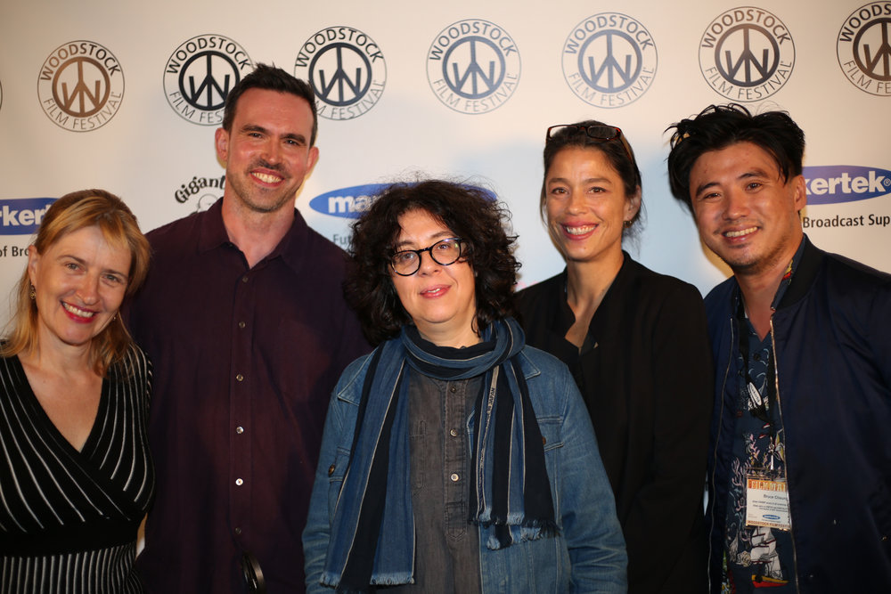 Sabine Hoffman, Joe Murphy, Oriana Soddu, Katharine McQuerrey, Bruce Thierry Cheung. DON'T COME BACK FROM THE MOON won the James Lyons Editing Award for Narrative Feature