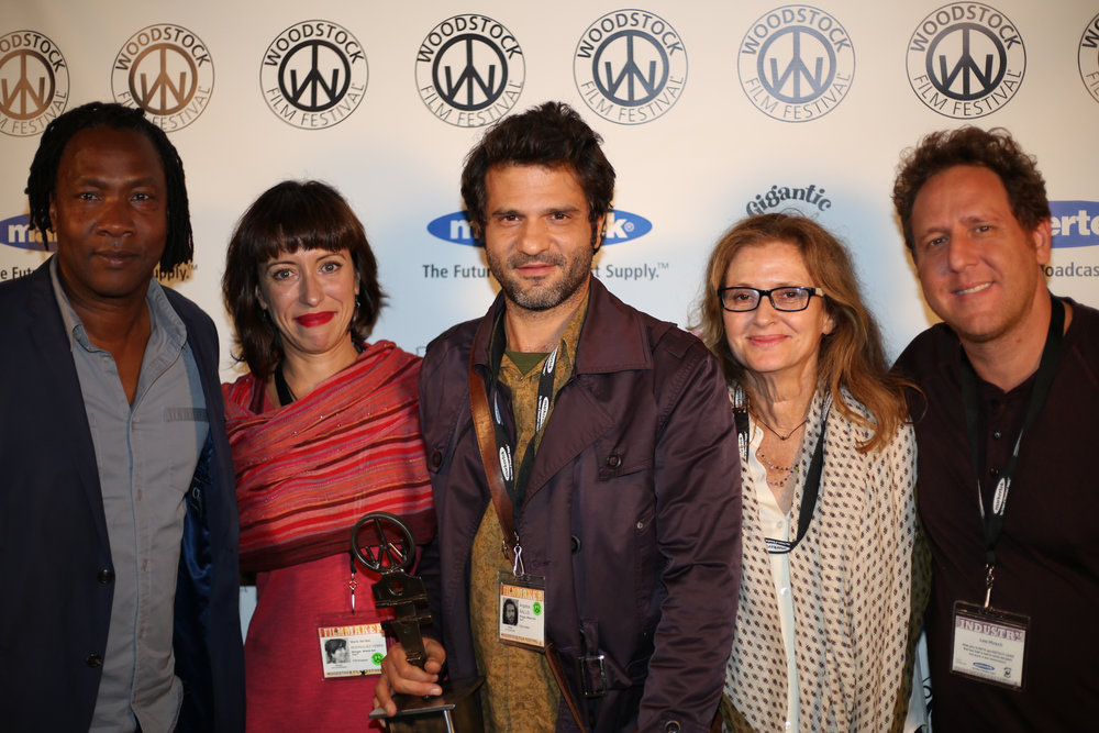 Roger Ross Williams, Maria del Mar Rodriguez Yebra, Angelos Rallis, Wendy Ettinger, and Lee Hirsch. SHINGAL, WHERE ARE YOU won Best Documentary Feature