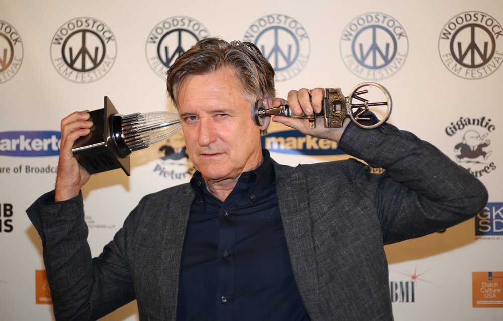 Excellence in Acting Award recipient Bill Pullman keeps it together at the awards