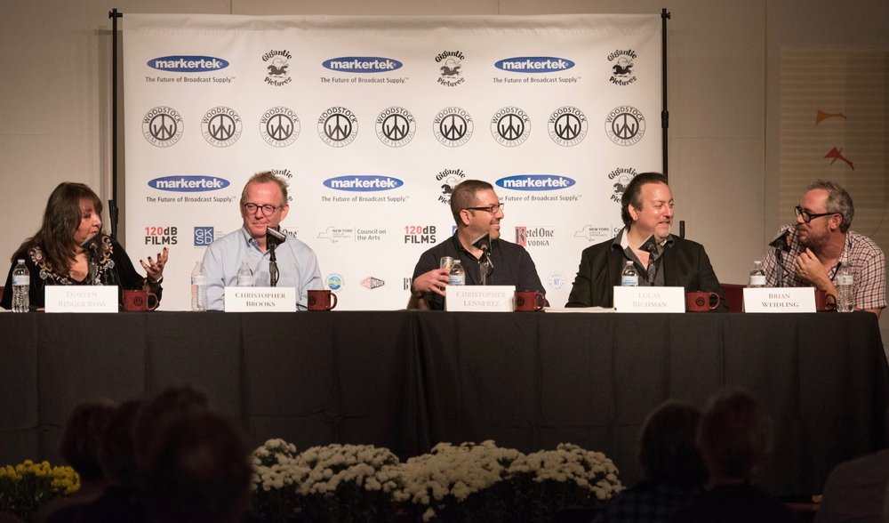 PANEL: Music in film at the 2017 Woodstock Film Festival. Photo: John Mazlish