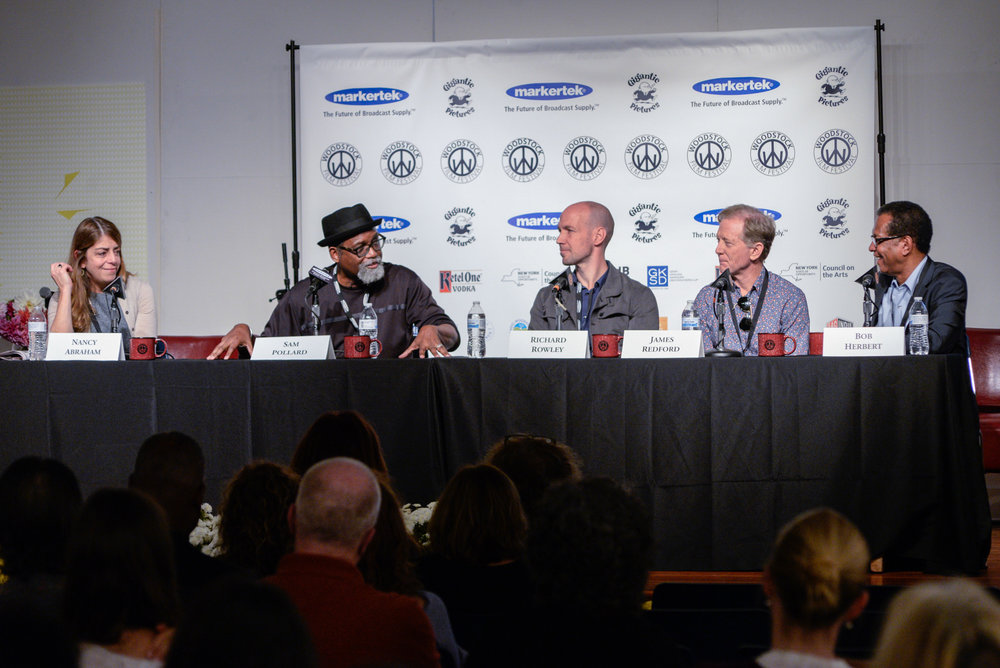 PANEL: Through Their Lens: The American Condition at the 2017 Woodstock Film Festival. Photo: Dion Ogust