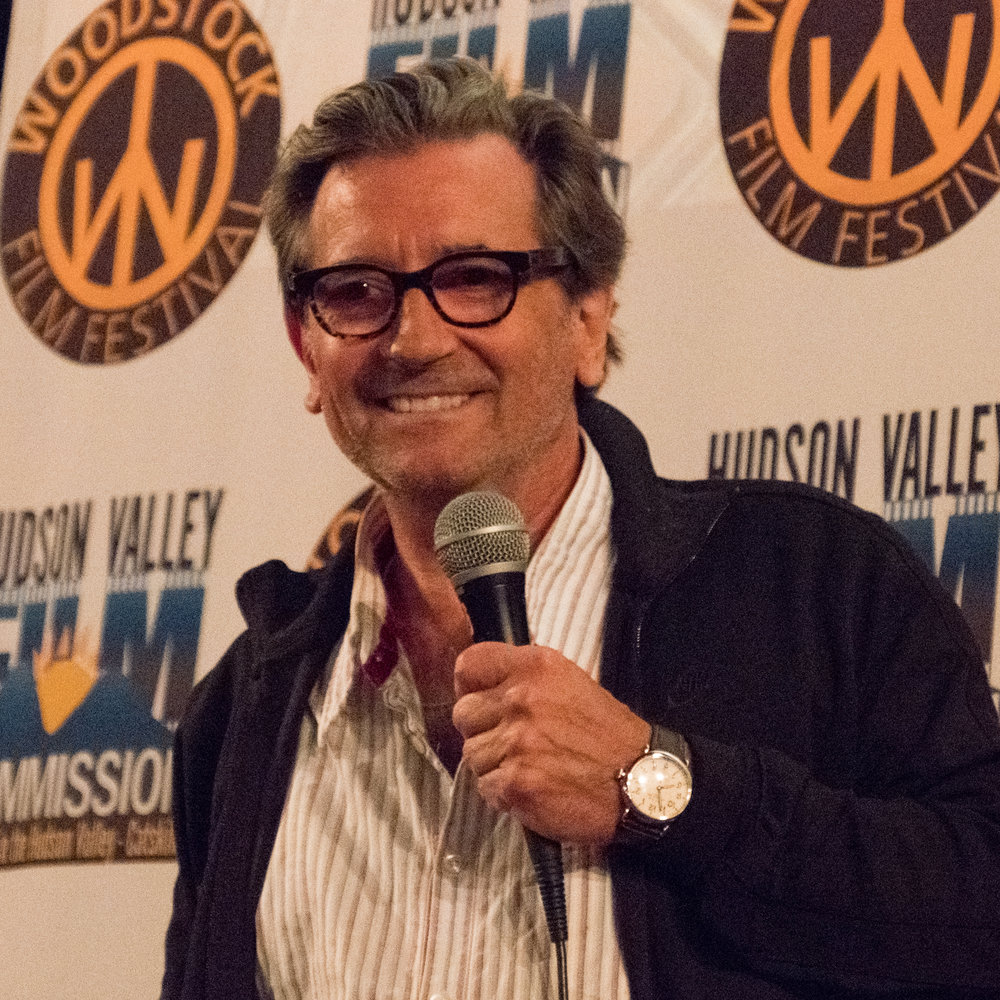 Director Griffin Dunne holding a Q&A at the 18th Annual Woodstock Film Festival