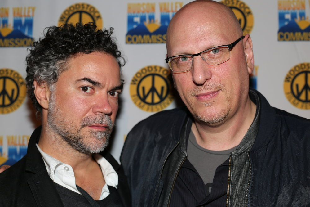 Lawrence Inglee and Oren Moverman at the 2016 Woodstock Film Festival
