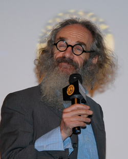 Tony Kaye with his Woodstock halo