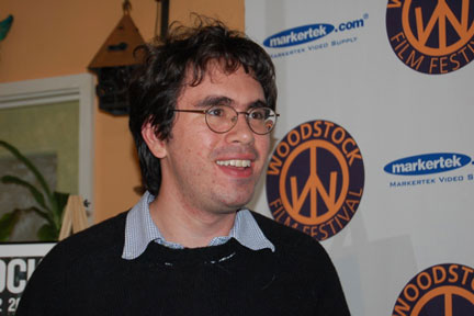 Andrew Bujalski at the 2005 Woodstock Film Festival