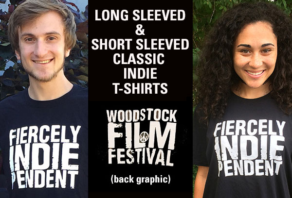 CLASSIC UNISEX INDIE T-SHIRTS: Long Sleeved ($18.58 + tax) - Short sleeved ($13.89+tax)