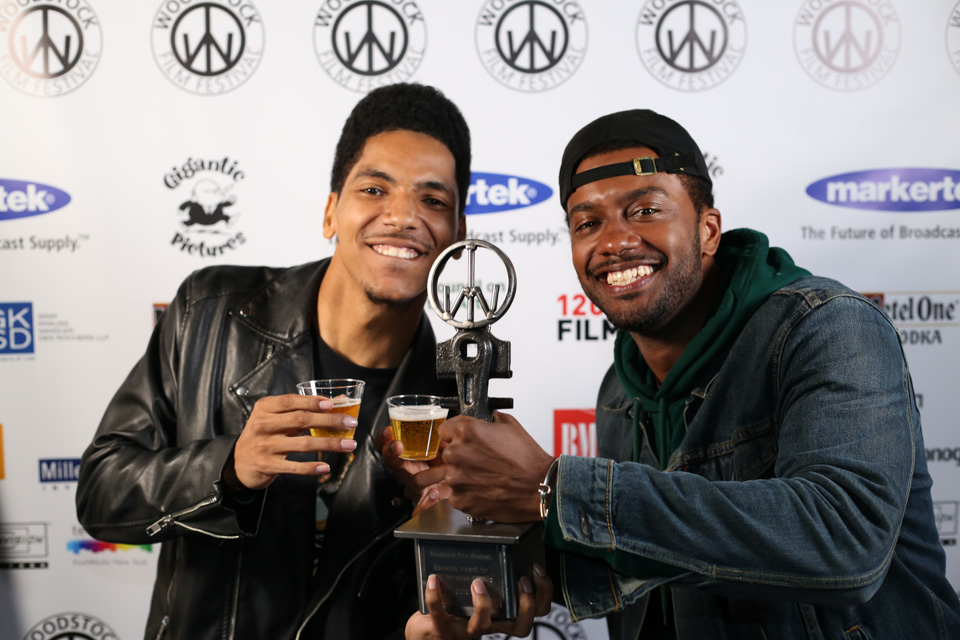 Arnstar and Joshua Boone of Wheels at the Maverick Awards