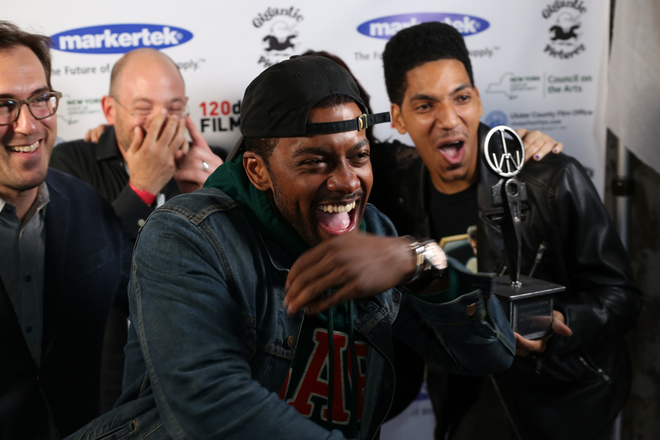 Cast and crew of Wheels at the Maverick Awards