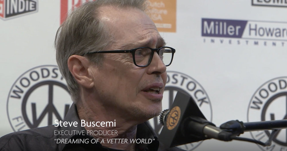 Steve Buscemi in Cinema Culture: The Woodstock Film Fest