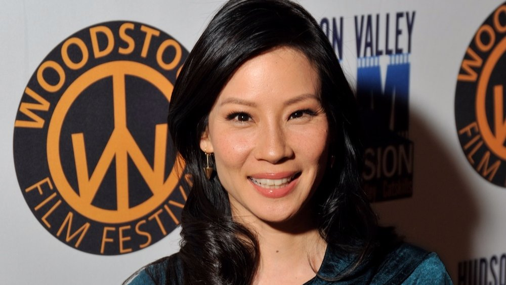 Lucy Liu at the 2009 Woodstock Film Festival.