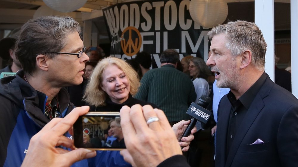 Alec Baldwin at the 2016 Woodstock Film Festival.
