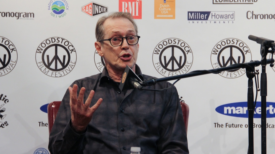 Steve Buscemi at the Actors Dialogue at the 2018 Woodstock Film Festival.