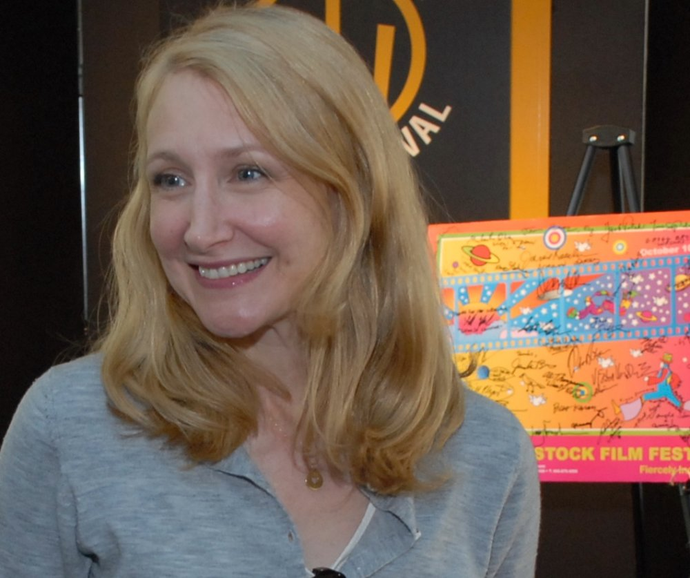 Patricia Clarkson at the 2007 Woodstock Film Festival