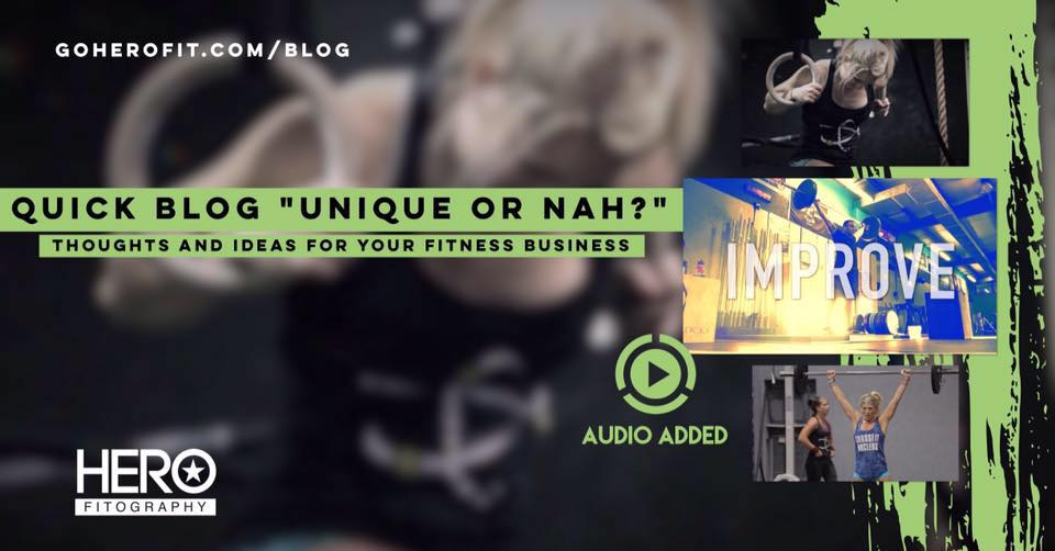 How will your fitness business stand out above the crowd? Will it? Now's the time...