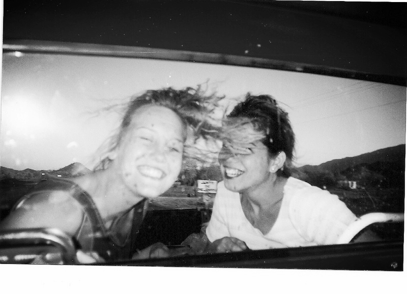 Ensenada, Mexico 1997. Jennifer Wyer and Tiana Uribe.  The meaning of life is to find your gift. The purpose of life is to give it away. -William Shakespeare