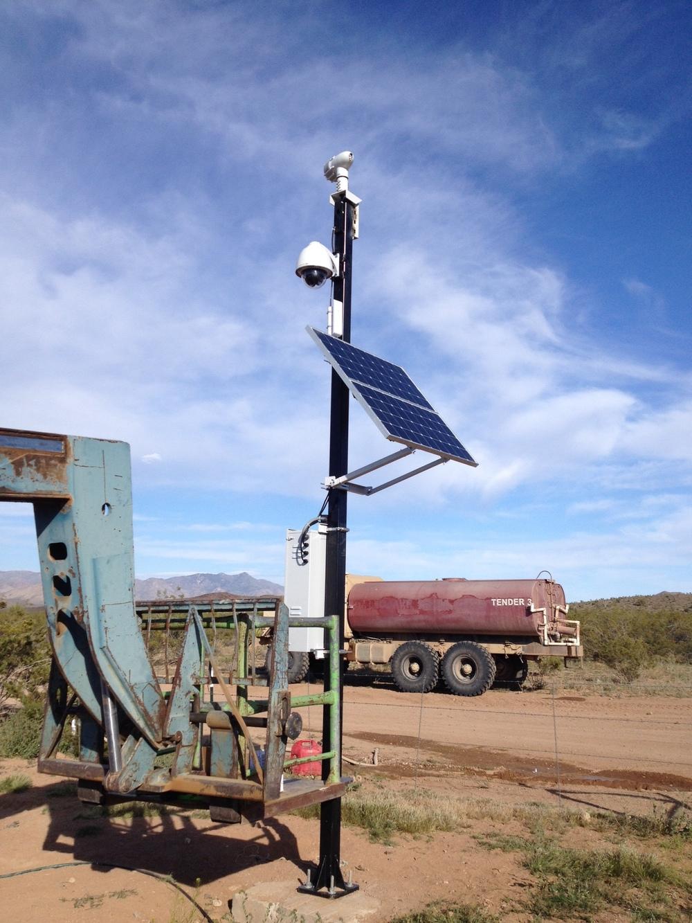 Energy Efficient Camera System Arizona