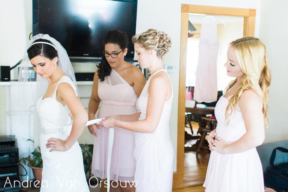 pink_bridesmaids_help_with_wedding_dress.jpg