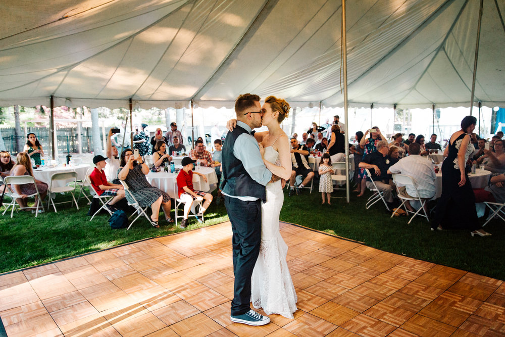 first-dance-backyard-wedding-photography-guests-granby-connecticut-providence-new-england.jpg