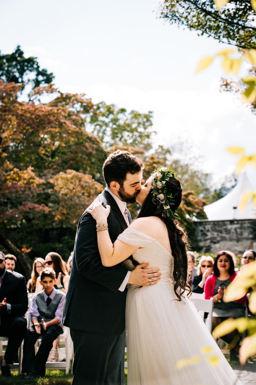 first-kiss-wedding-gwyn-careg-inn-connecticut-pomfret-hartford-boston-massachusetts-new-england-wedding-photographer.jpg