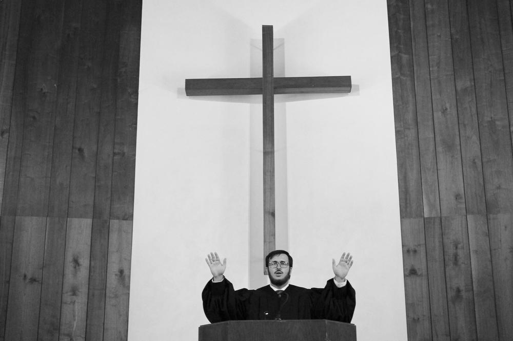 Prima benedicție ca slujitor ordinat