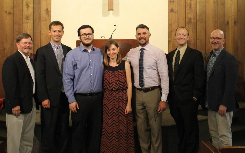Cu soția mea Lidia și Consistoriul Bisericii Reformate Unite din San Diego