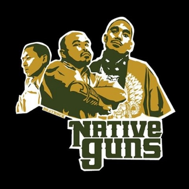 Native Guns -  Filipino American emcees and activists (defunct in 2007)
