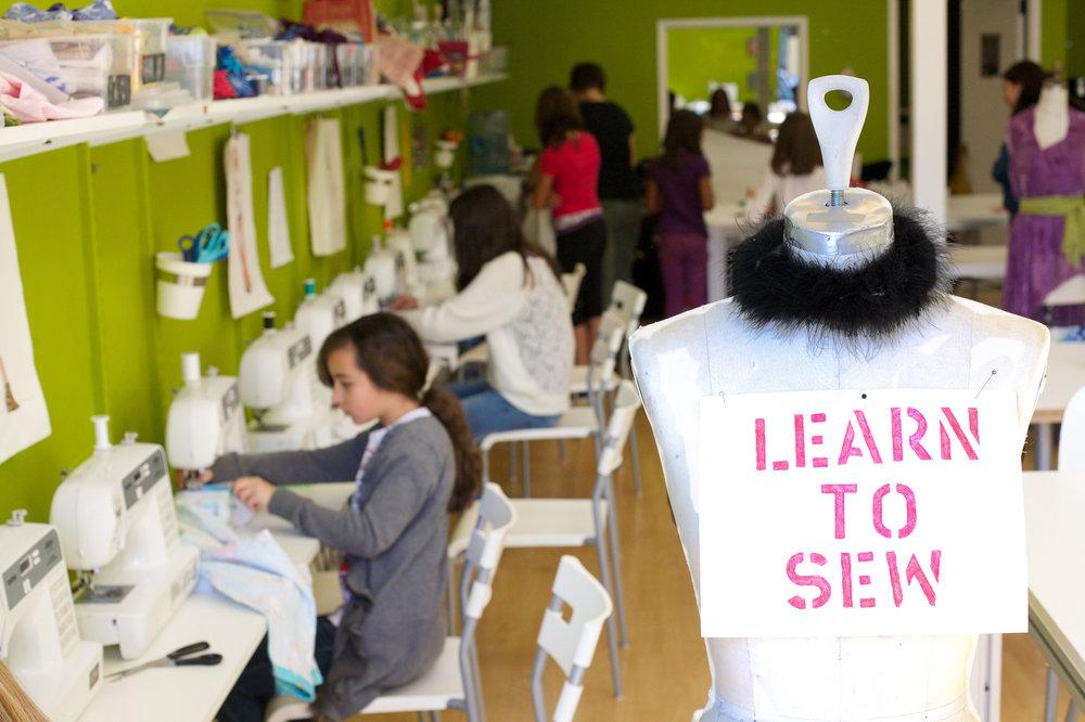 Camp Fashionista   - San Jose's Premiere Fashion Studio For Budding Designers