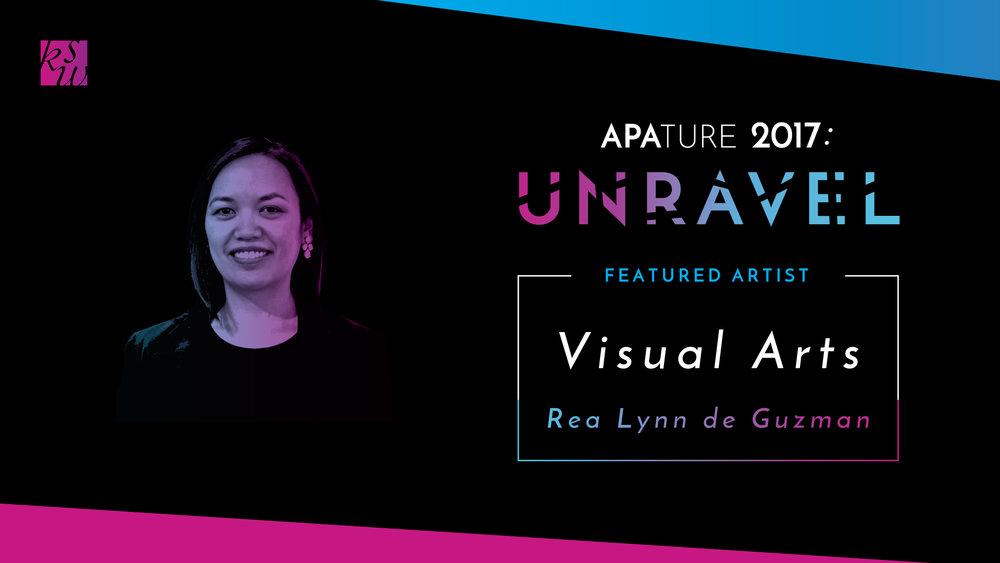 Visual Arts Showcase feat.Rea Lynn de Guzman,co-presented by Arc Gallery & Studios - September 29th - October 28thOpening Reception: Friday, September 29th, 6-10pmArc Gallery & Studios, 1246 Folsom St., San Francisco, CA 94103