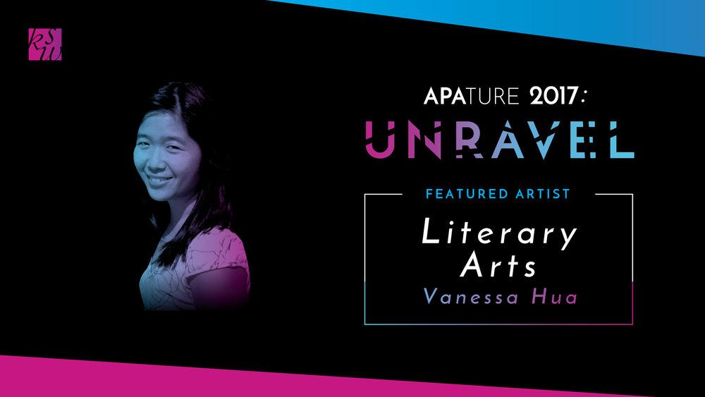 Literary Arts Showcasefeat. Vanessa Hua, co-presented by Lantern Review - Thursday, October 5th, 7 - 10pmArc Gallery & Studios 1246 Folsom St., San Francisco, CA 94103