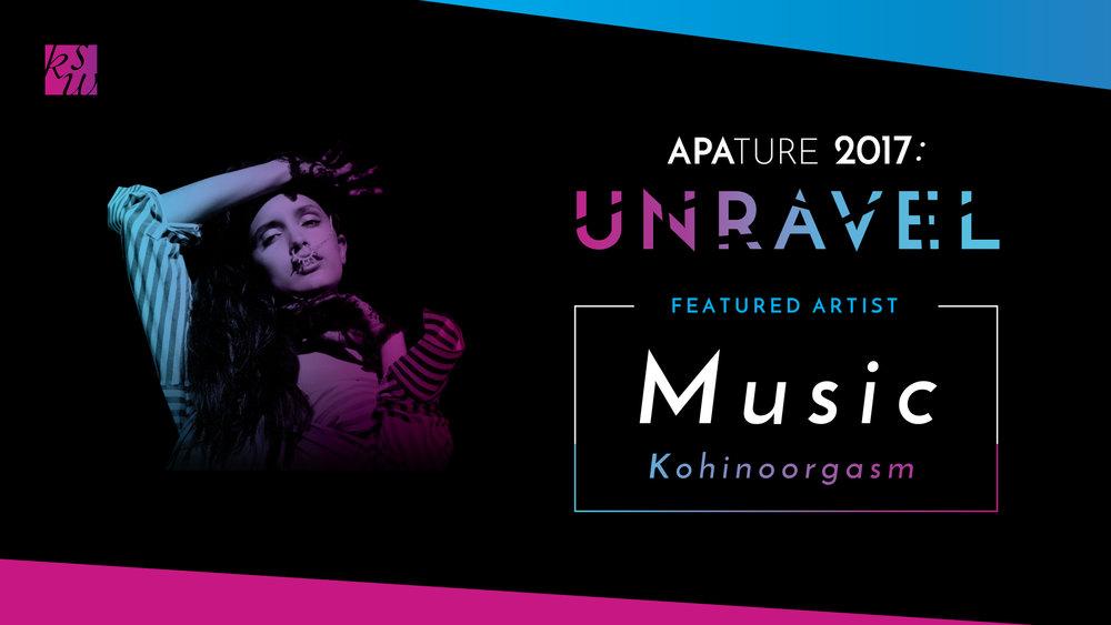 Music Showcasefeat. Kohinoorgasm, co-presented by Bindlestiff Studio and KollaborationSF - Saturday, October 7th, 7 - 10pmF8, 1192 Folsom St., San Francisco, CA 94103