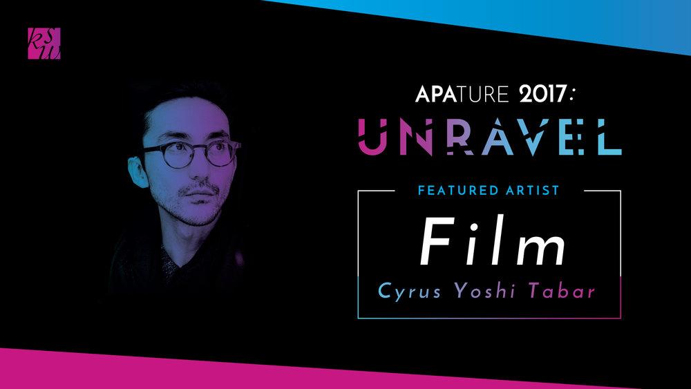 Film Showcasefeat. Cyrus Yoshi Tabar, co-presented by SFPL - Thursday, October 12th, 7 - 10pmZ Space, 450 Florida St., San Francisco, CA 94110
