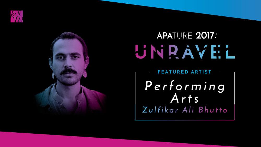 Performing Arts Showcasefeat. Zulfikar Ali Bhutto, co-presented by Asian Art Museum - Saturday, October 21st, 2 - 5pmSamsung Hall, Asian Art Museum, 200 Larkin St, San Francisco, CA 94102