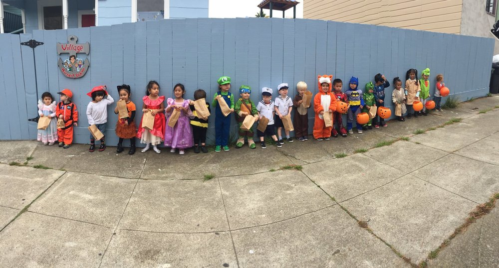 Village Nursery School - Daly City's premiere co-op preschool, est. in 1953.