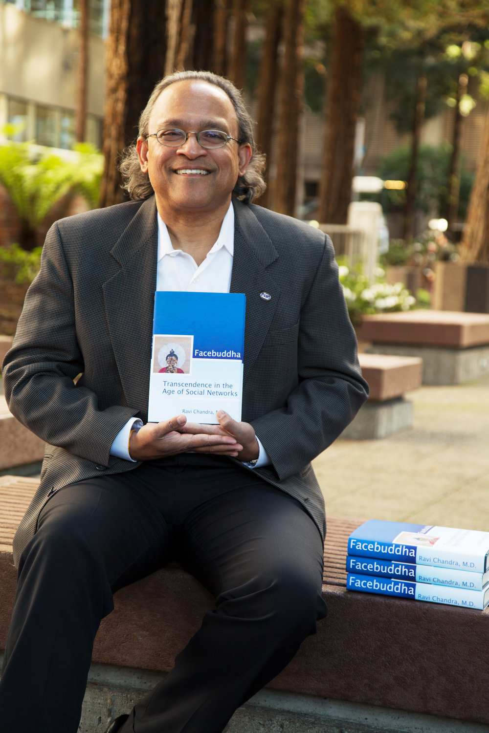 Dr. Ravi Chandra, author of 'Facebuddha - Transcendence in the Age of Social Media'