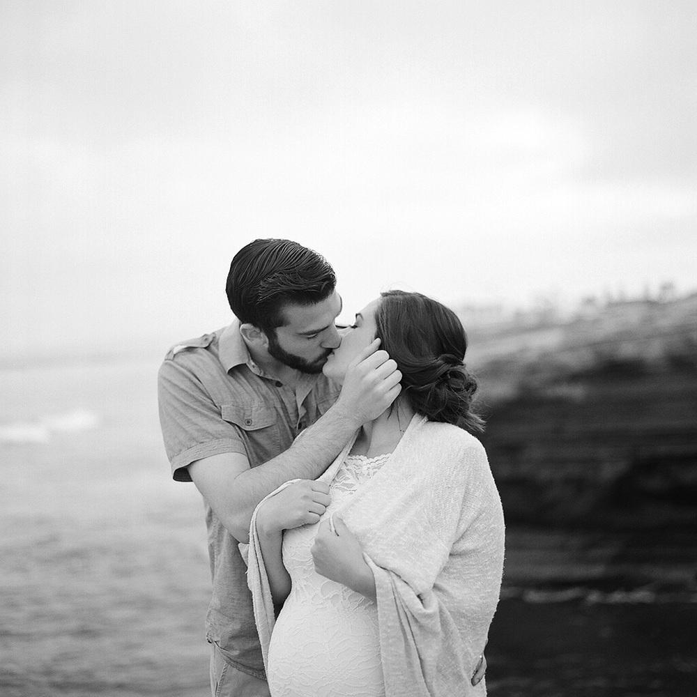 Portland Maine Maternity and Pregnancy Film Photography by Tiffany Farley