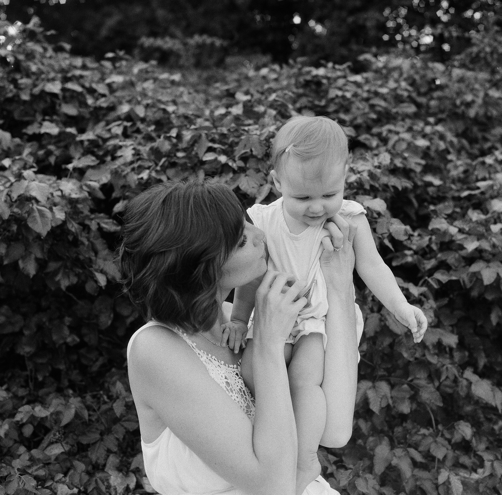 Portland Maine Motherhood and Family Film Photographer Tiffany Farley