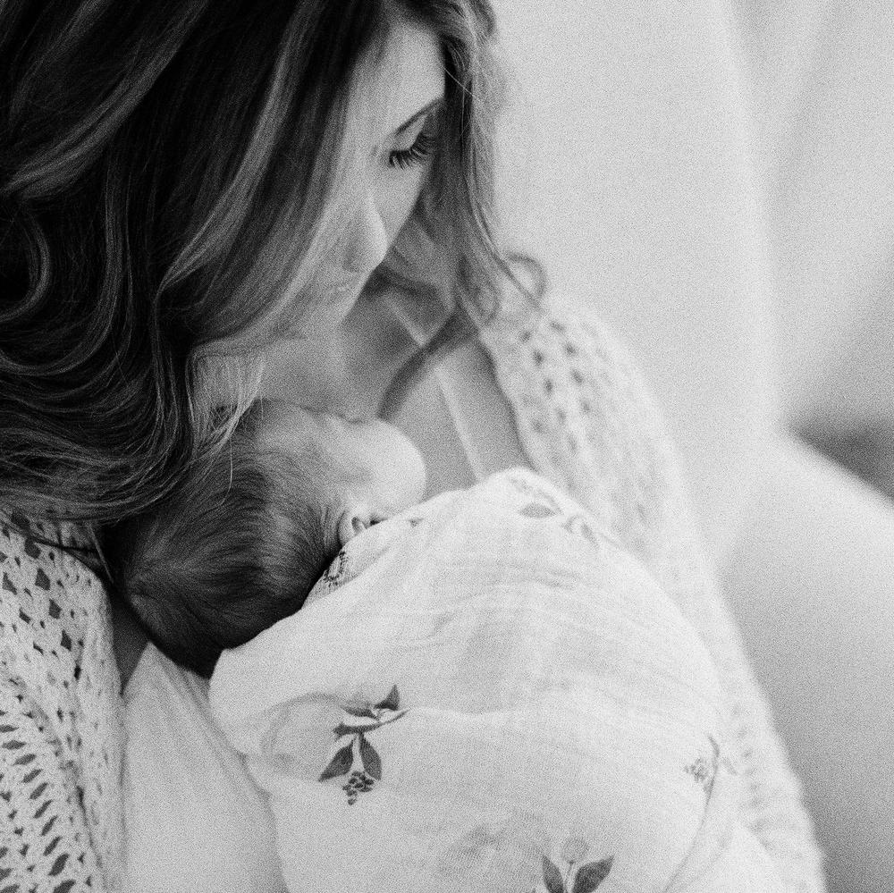 Yarmouth Maine Newborn Film Photography by Tiffany Farley