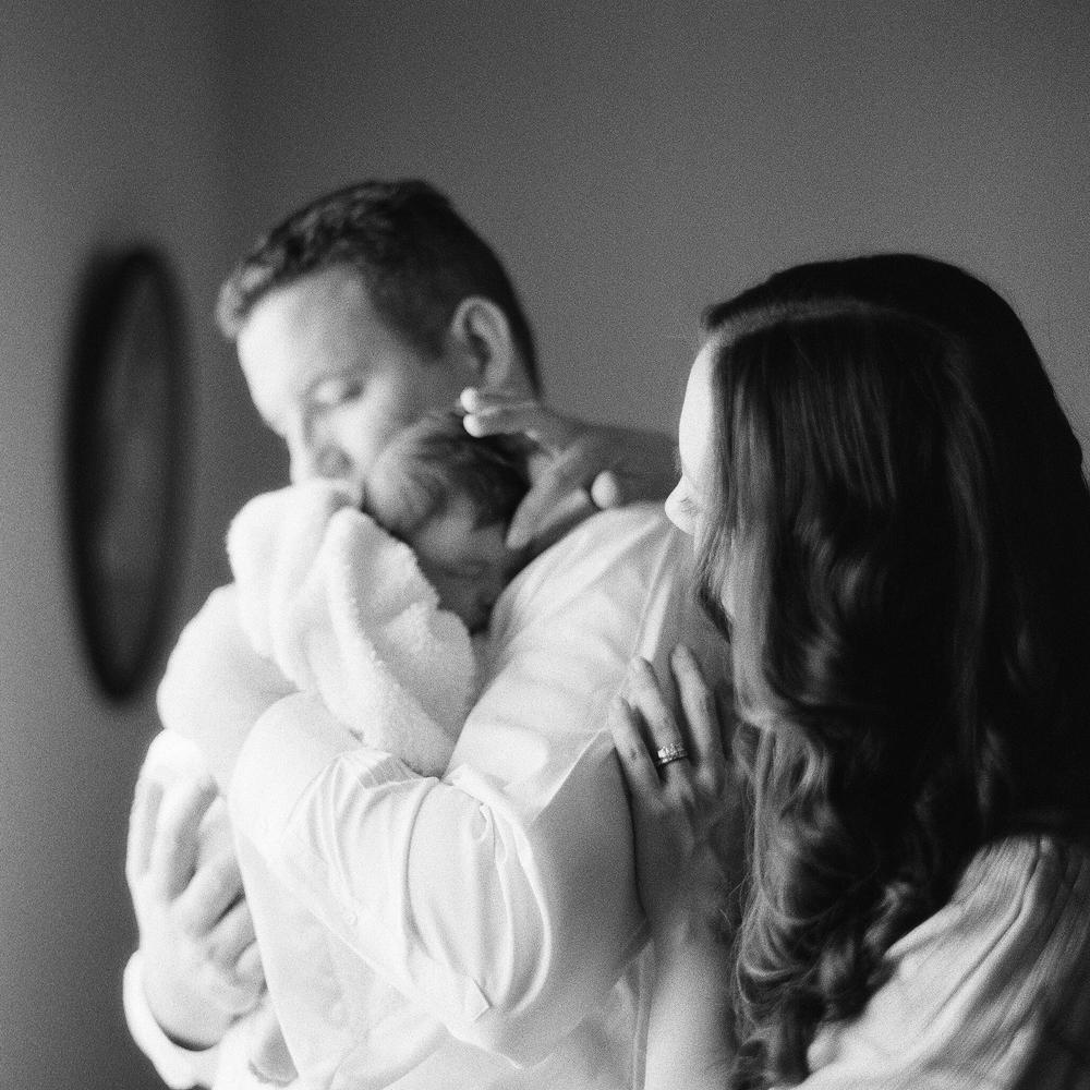 Portland Maine Film Newborn Photographer