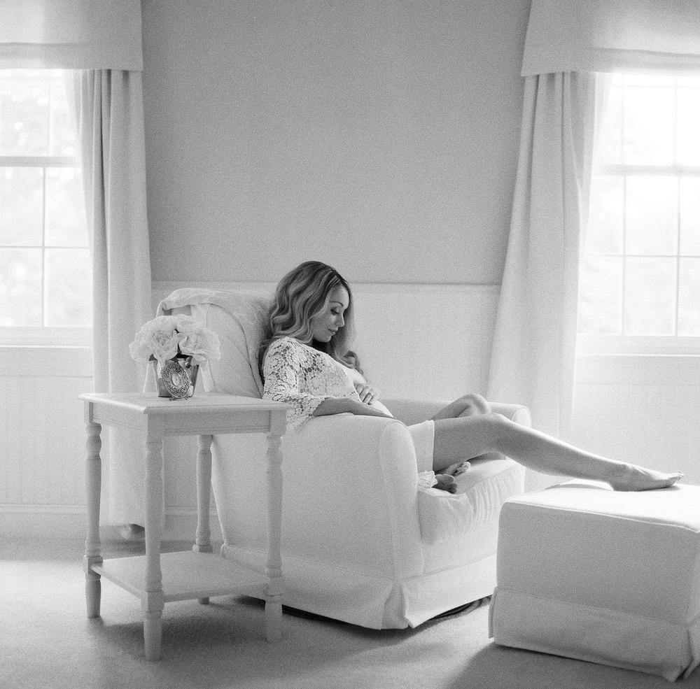 Portland Maine Film Maternity Photography by Tiffany Farley