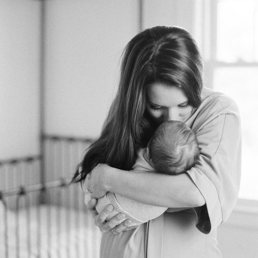 Portland Maine Newborn Film Photography by Tiffany Farley