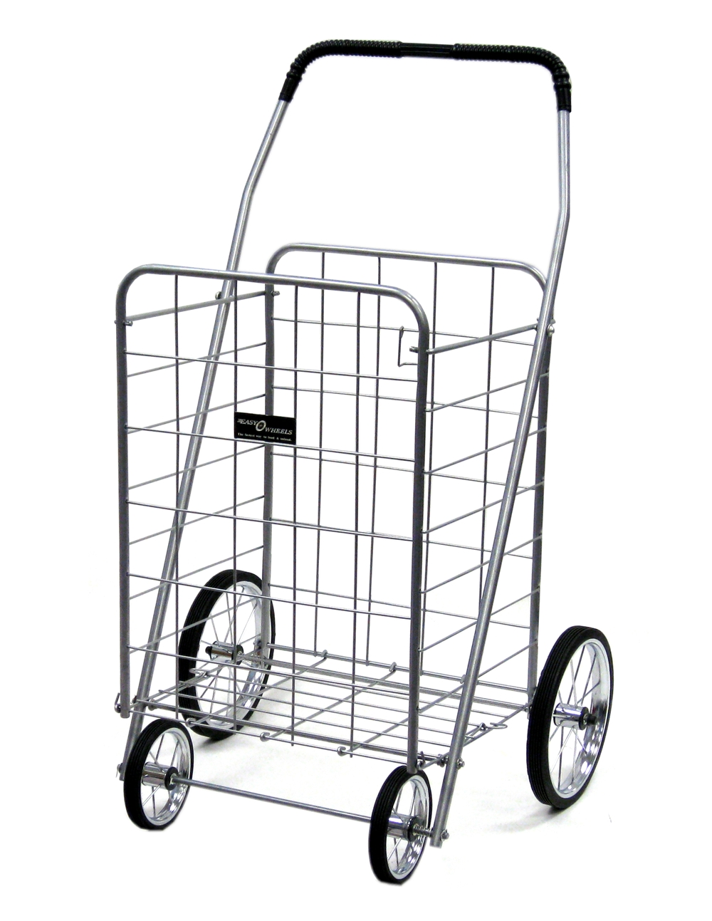 NTC001-CR Chrome jumbo shopping cart