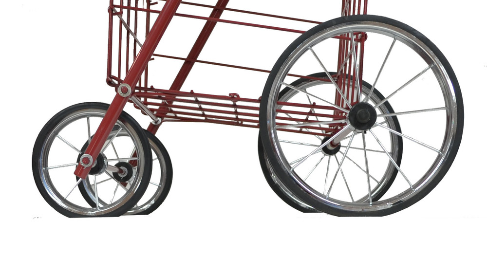 NTC777-RD Red mitey shopping cart