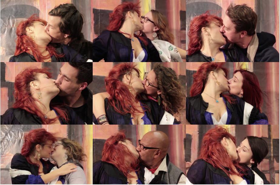 Claudia Bitran, Kiss Stand, Omaha, November 2014