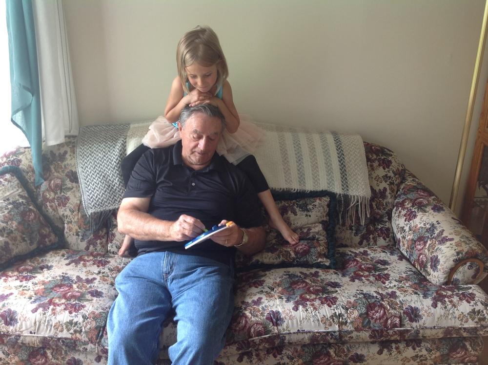 Nadia & Grandpa B.