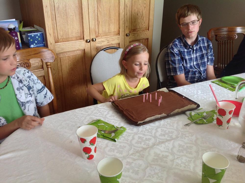 Giesbrecht birthday party