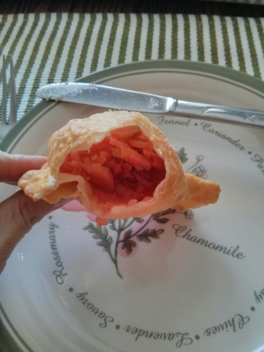 Rhubarb Rollkuchen... YUM!